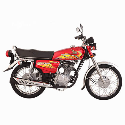 Honda-CG125-Red